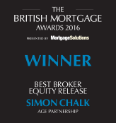 Laterlivingnow! - Simon Chalk, Best broker equity release – 2016