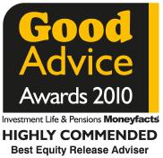Laterlivingnow! - Simon Chalk, Best equity release advisor – 2010