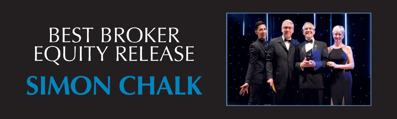 Laterlivingnow! - Awards - Best broker equity release Simon Chalk